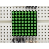 Miniature 0.8 8x8 Pure Green LED Matrix