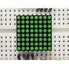 LED maatriks 8x8, 20mm, roheline