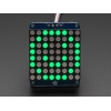 LED maatriks 8x8, 30mm, I2C draiveriga, puhas roheline