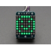 Adafruit Mini 0.8 8x8 LED Matrix w/I2C Backpack - Pure Green