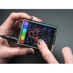 TFT 2.8´´ 320x240 Touch - puutetundlik displei MicroSD kaardiga
