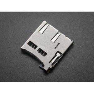 MicroSD kaardi pesa, SMD