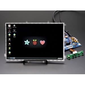 TFT displei 10.1´´ 1280x800 IPS, stereoheliga, HDMI/VGA/NTSC/PAL