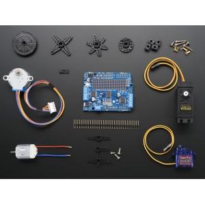 Adafruit Motor/Stepper/Servo laiendusplaat Arduino´le, koos mootorivalikuga