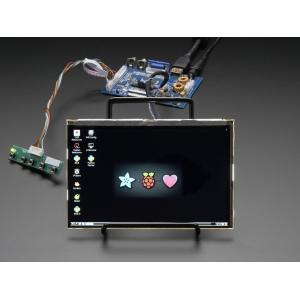 TFT displei 7´´ 1280x800 IPS, stereoheliga, HDMI/VGA/NTSC/PAL