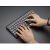 Mini Wireless Keyboard - Black w/ Batteries
