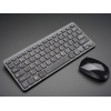 Wireless Keyboard and Mouse Combo w/ Batteries - One USB Port!