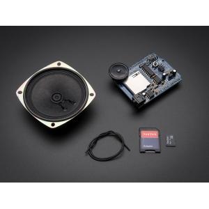 Adafruit Wave Shield - audio pleieri komplekt SD kaardi ja valjuhääldiga