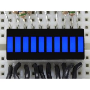 LED tulp indikaator, 10 segmenti, sinine