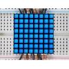 LED maatriks 8x8, kandiline, 30mm, sinine