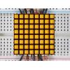 LED maatriks 8x8, kandiline, 30mm, kollane
