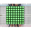1.2 8x8 Matrix Square Pixel - Pure Green