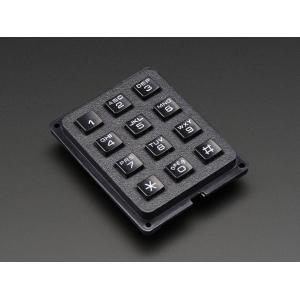 Telefoni tüüpi klahvistik, 3 x 4 nuppu