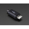 USB DIY Slim Connector Shell - MicroB Plug