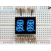 Dual Alphanumeric Display - Blue 0.54 Digit Height - Pack of 2