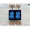 14-segment LED displei, 2 kohta, 13.7mm, sinine, 2 tk