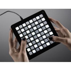 UNTZtrument maatriksklaviatuur, 8 x 8 nuppu, LED valgusega