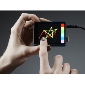 TFT 2.8´´ 320x240 CapTouch - puutetundlik displei MicroSD kaardiga
