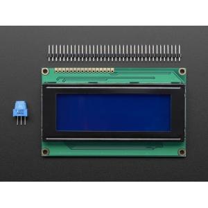 LCD maartiksdisplei 20x4, valge kiri, sinine taust