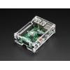 Adafruit Pi Box Plus - Raspberry Pi B+, Pi2, Pi3 läbipaistev korpus