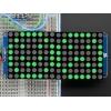 LED maatriks 16x8, 30mm, I2C draiveriga, roheline