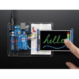 TFT displei 3.5´´ 320x480, puutetundlik, MicroSD kaardi lugejaga