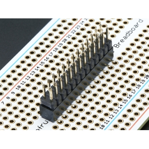 Makettplaadi vahekonnektor, 2x13p 2.54mm