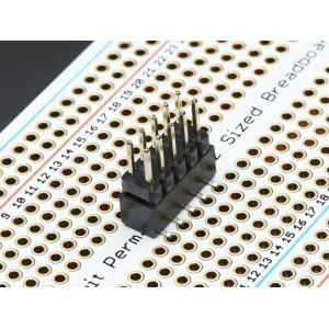 Makettplaadi vahekonnektor, 2x5p 2.54mm