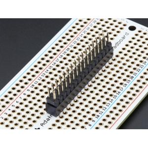 Makettplaadi vahekonnektor, 2x16p 2.54mm