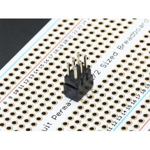 Makettplaadi vahekonnektor, 2x3p 2.54mm