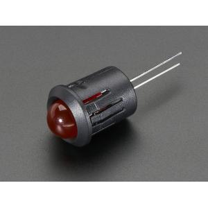 LED 10mm kinnitus paneelile, plastik, 5 tk