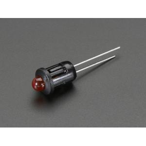LED 5mm kinnitus paneelile, plastik, 5 tk