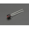 LED 3mm kinnitus paneelile, plastik, 5 tk