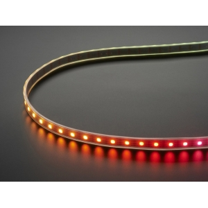 DotStar RGB LED riba, 60 LED/m, valge alus, 1m