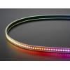 DotStar RGB LED riba, 144 LED/m, must alus, 1m