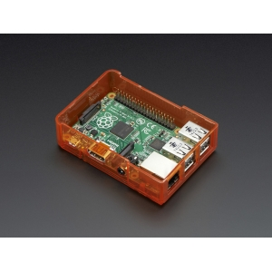Pi Model B+ / Pi 2 Case Base - Orange