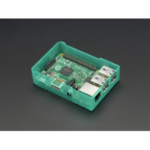 Pi Model B+ / Pi 2 Case Base - Green
