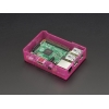 Pi Model B+ / Pi 2 Case Base - Pink