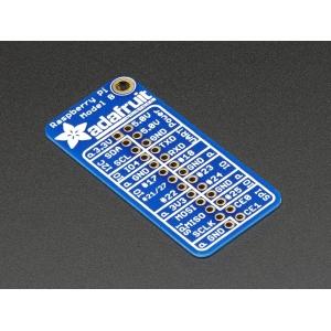 Raspberry Pi 26-pin GPIO plaat, signaalinimedega