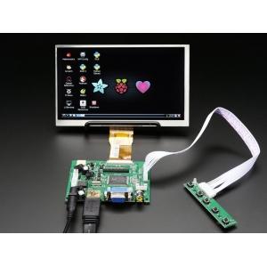 TFT displei 7´´ 1024x600, HDMI/VGA/NTSC/PAL