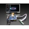 TFT displei 7´´ 1024x600, stereoheliga, HDMI/VGA/NTSC/PAL