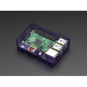 Pi Model B+ / Pi 2 Case Base - Purple