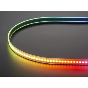 DotStar RGB LED riba, 144 LED/m, valge alus, 0.5m