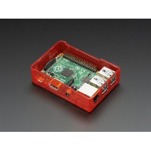 Pi Model B+ / Pi 2 Case Base - Red