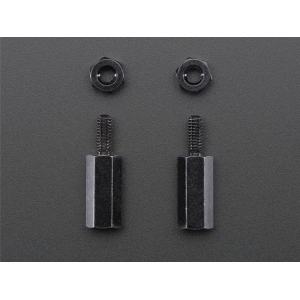 Messingpuksid M2.5 x 11mm, 2 tk komplektis