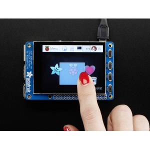 PiTFT Plus 2.8´´ 320x240 TFT CapTouch - puutetundlik displei Raspberry Pi´le