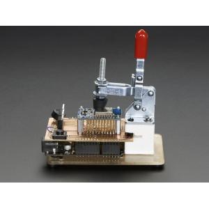 Testplaadi fiksaator / klamber, keskmine