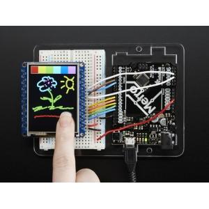 TFT displei 2.4´´ 240x320, puutetundlik, MicroSD kaardi lugejaga