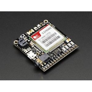 Adafruit FONA 808 - Mini GSM + GPS mobiilside moodul