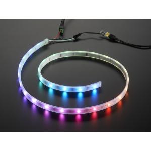 NeoPixel Digital RGB LED riba stardikomplekt, 30 LEDi, valge alus